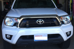 2012-2015 tacoma NO DRILL FRONT LICENSE PLATE BRACKET (2)
