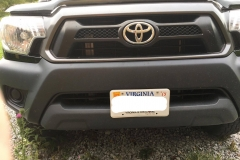 2012-2015 tacoma NO DRILL FRONT LICENSE PLATE BRACKET