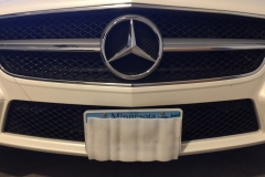 2012 Mercedes CLS550 NO DRILL FRONT LICENSE PLATE BRACKET