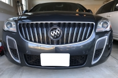 2014 Buick Regal GS (3) NO DRILL FRONT LICENSE PLATE BRACKET