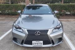 2015 Lexus IS250 FSport NO DRILL FRONT LICENSE PLATE BRACKET