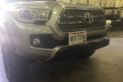 2016-2017 TOYOTA tacoma NO DRILL FRONT LICENSE PLATE BRACKET