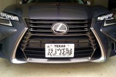 2016 Lexus GS -base odel NO DRILL FRONT LICENSE PLATE BRACKET