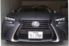 2016 Lexus GS -base NO DRILL FRONT LICENSE PLATE BRACKET