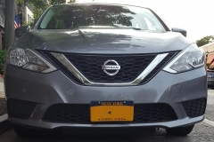 2016 Nissan Sentra NO DRILL FRONT LICENSE PLATE BRACKET
