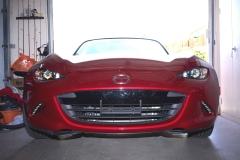 2017 Mazda MX-5 Miata NO DRILL FRONT LICENSE PLATE BRACKET