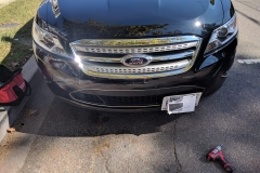ford NO DRILL FRONT LICENSE PLATE BRACKET